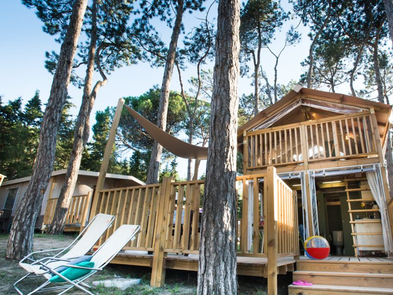 Airlodge camping Italië