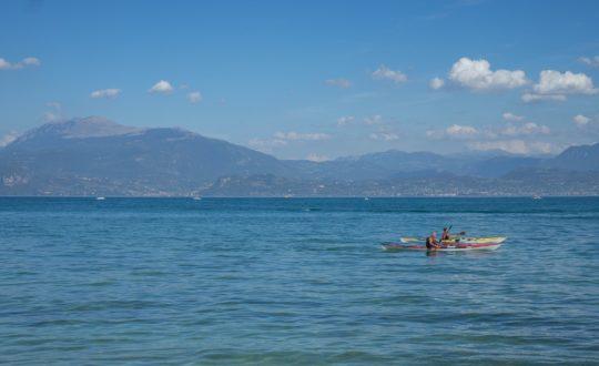 Vakantie vieren in een Airlodge aan het Gardameer