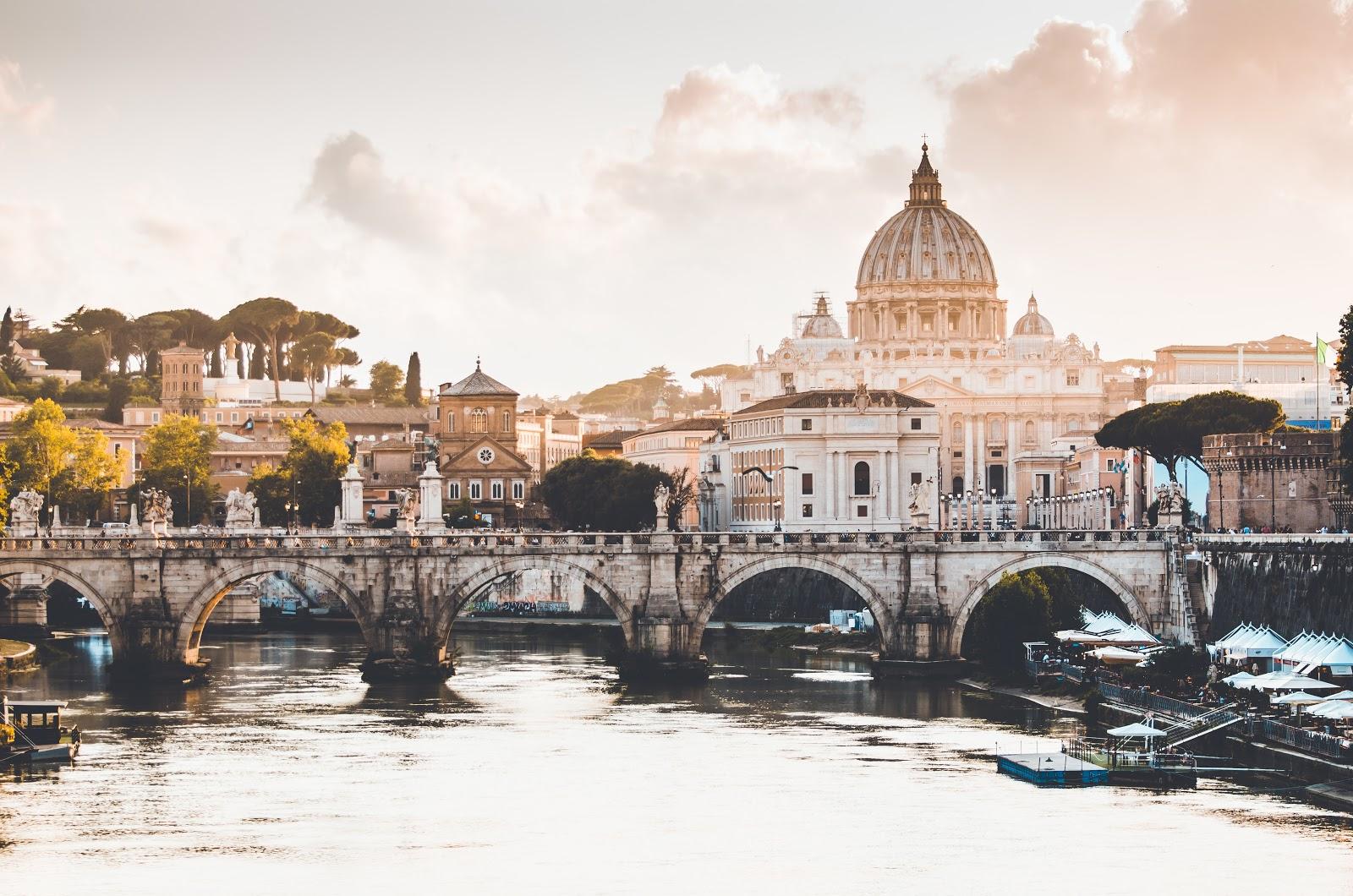 Vaticaan stad - Rome in het voorjaar