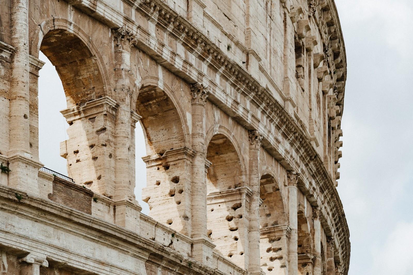 Colosseum - Rome in het voorjaar