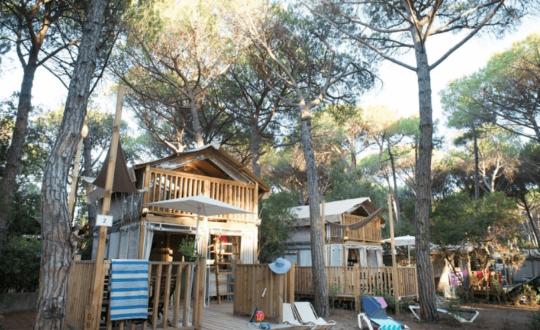 Op vakantie in een airlodge bij Ca'Pasquali Village